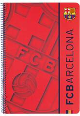 Notizbuch, Hardcover 80 Blatt. FCB Zweite Ausrüstung