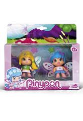 Poupées PinyPon Fées 9 cm Famosa 700013365