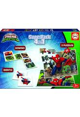 Educa SuperPack Spiderman Vs Sinister