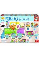 Baby Puzzle Tren De Los Animales