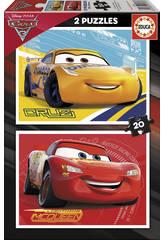 Puzzle 2X20 Cars 3