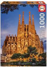Puzzle 1000 Peças Sagrada Família 68x48 cm EDUCA 17097