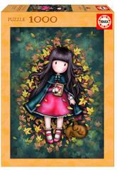 Puzzle 1000 Autumn Leaves Gorjuss Educa 17114