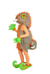 Kostüm Erwachsene Chamäleon Frau Nines D'Onil D8913
