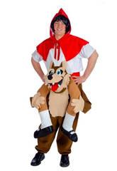 Kostüm Adult Wolf und Rotkäppchen Nines D'Onil D8950
