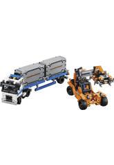 Lego Technic Depósito de Contenedores