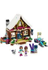 Lego Friends Estación De Esquí Con Cabaña