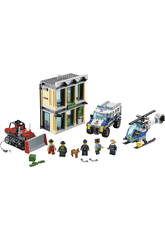 Lego City Huida con Bulldozer 60140