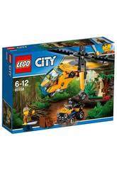 Lego City Hélicoptère Cargo de la Jungle
