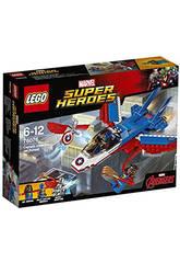 Lego SH Inseguimento sul Jet di Capitan America