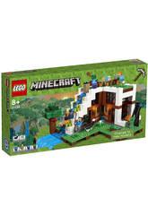 Lego Minecraft La Base sous la Cascade