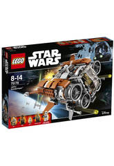 Lego Star Wars Le Quadjumper de Jakku