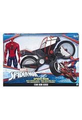Spiderman Figura Con Vehículo