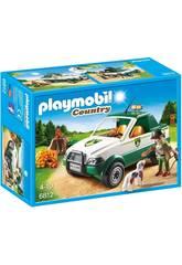 Playmobil Guarda-florestal com Pick-up