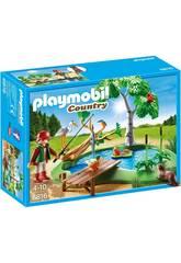 Playmobil Îlot avec Pêcheur et Animaux