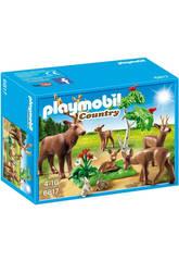 Playmobil Familia de Ciervos