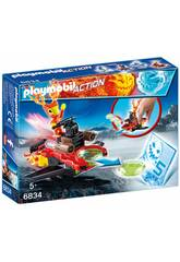 Playmobil Sparky mit Launcher 6834