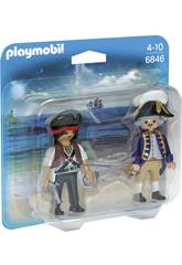 Playmobil Duopack Pirate et Soldat 6846