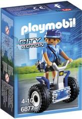 Playmobil Policía Con Balance Racer 6877