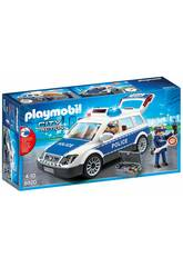 Playmobil Coche Policía con Luces y Sonido 6920