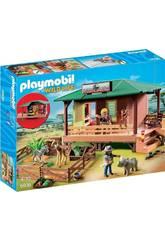 Playmobil Tierarzt Klinik in Afrika 6936