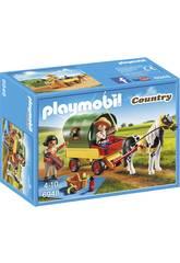 Playmobil Picknick mit Pony und Trolley 6948