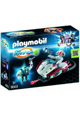 Playmobil Skyjet con Dr. X y Robot 9003