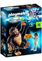 Playmobil Super4 Gorilla Gigante Gonk 9004
