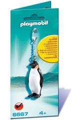 Playmobil Llavero de Pingüino 6667