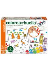 Colorea con Tu Huella