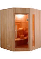 Sauna Tradizionale ZEN-4,5 kW-3 Persone Angolare