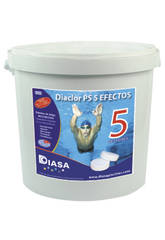 Chlor Diaclor Multiaction PS 5 Effekte 5Kg.