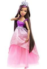 Barbie Grande Princesse 43 cm. Brune