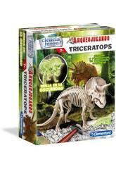 Arqueojugando Triceratopo Fosforescente