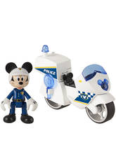 Mickey Mouse Moto de la Police