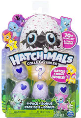 Sammelbare Hatchimals 4 Figuren Bizak 6192 1915