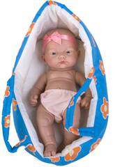 Bambola Bebè Culla 25 cm Guca