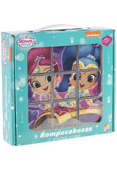 Puzzle Rompecabezas Shimmer And Shine 9 Cubos Cefa Toys 88246