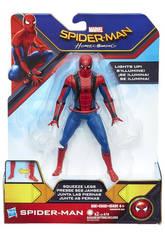 Spiderman Web City Lanza Redes 15 cm.