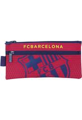 Estuche Portatodo Doble F.C. Barcelona Oficial