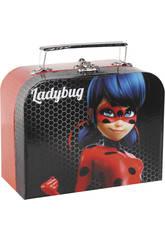 Portagioie Valigetta Ladybug Miraculous 18,5x14,5x9 cm