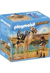 Playmobil egípcio com camelo