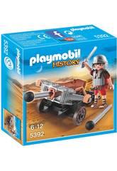 Playmobil Légionnaire avec Baliste
