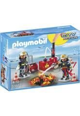 Playmobil Equipement de Pompiers