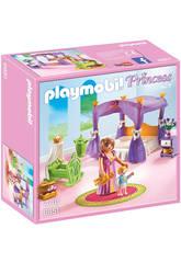 Playmobil Chambre de la Reine avec Lit à Baldaquin