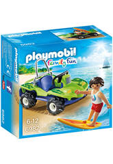 Playmobil Surfista con Buggy
