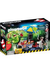 Playmobil Slimer e il Carretto degli Hot Dog 9222