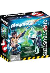 Playmobil Spengler und Gespenst Ghostbusters 9224