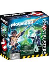 Playmobil Spengler et Fantôme Ghostbusters