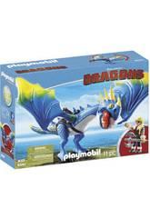 Playmobil Como Entrenar a Tu Dragón Astrid y Tormenta 9247